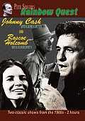Johnny Cash and Roscoe Holcombe