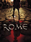 Rome: The Complete First Season Cover