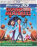 Cloudy With a Chance of Meatballs 3D (Blu-ray)