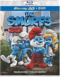 Smurfs 3D (Combo) (Blu-ray) (Widescreen) Cover