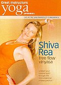 Yoga Journal:shiva Rea Free Flow Viny