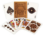 Playing Cards Bicycle Steampunk