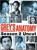Grey's Anatomy: Season 2 Cover