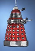 Doctor Who Red Dalek Drone Ornament