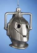 Doctor Who Cyberman Glass Ornament