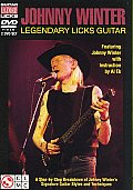Johnny Winter:legendary Licks Guitar