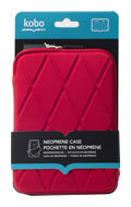 Kobo Neoprene Case (Red) Cover