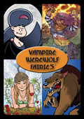 Vampire Werewolf Fairies Card Game