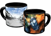 Disappearing Tardis Mug Cover