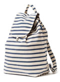 Baggu Recycled Cotton Backpack Sailor Stripe
