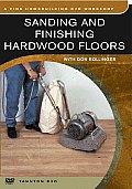 Sanding Finishing Hardwood