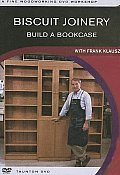 Biscuit Joinery:build a Bookcase