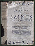 A Calendar of Saints for Unbelievers