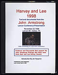Harvey and Lee 1998: Text and Documents from the John Armstrong Lancer Conference Presentation