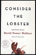 Consider the Lobster, Advance Reading Copy
