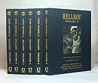 Hellboy Library Edition, Volumes 1-6, Signed