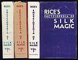 Rice's Encyclopedia of Silk Magic, 3 Volumes