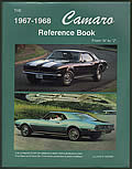 The 1967-1968 Camaro Reference Book Cover