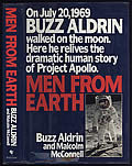 Men From Earth Signed First Edition by Buzz Aldrin