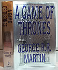 A Game of Thrones (A Song of Ice and Fire #1) Signed 1st Edition Cover