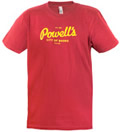 Powells Logo Shirt Cranberry Small