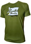Powells Meadowlark Shirt XXLarge Green