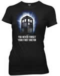 Doctor Who First Doctor Shirt Womens Large