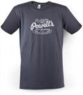 Powell's 41st Anniversary T-Shirt (Gray, XXL)
