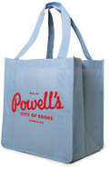 Powell's Reusable Tote Bag (Light Blue)