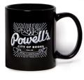 Powell's 41st Anniversary Mug (Black)