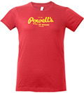 Powell's Cranberry T-Shirt (Women's Large)