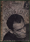 Outsider Volume 1 Number 3 Spring 1963 Cover
