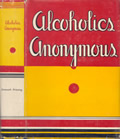 Alcoholics Anonymous 1st Edition 16th Printing Cover