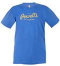 Powells Logo Shirt Heather Blue Large