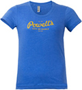 Powell's Heather Blue T-Shirt (Women's Large)