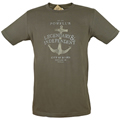 Powell's Anchor T-Shirt (Kelp, Large)