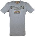 Powell's Owl T-Shirt (Heather Grey, Medium)