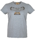 Powell's Owl T-Shirt (Heather Grey, Women's Large)