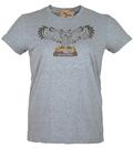 Powells Owl Shirt Womens XLarge Heather Grey