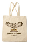 Powell's Owl Tote Bag