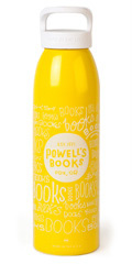 Powell's Yellow Books, Books, Books Water Bottle (24 oz.)