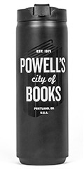 Powell's Black Insulated Tumbler (16 oz.)