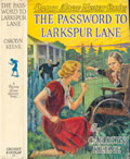 Nancy Drew Mystery Stories The Password to Larkspur Lane 1st Edition