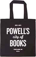 "Powell's ""Writ Large"" Tote (Black)"