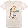 City of Books and Bikes Women's Tee