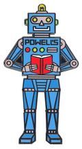 Powells Robot Pin