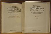 Mittellateinisches Worterbuch: bis zum ausgehenden 13. jahrhundert Band I A - B