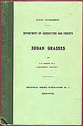Sudan Grasses
