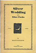 Silver Wedding and Other Poems, Signed 1st Edition