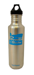 Powell's Blue Klean Kanteen (27 oz.) Cover